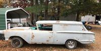 1958 Chevrolet Sedan Delivery Project