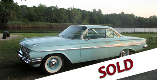 1961 Impala Sport Coupe, vintage Chevy cars for sale