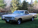1967 Chevelle El Camino, restored classic Chevy show car