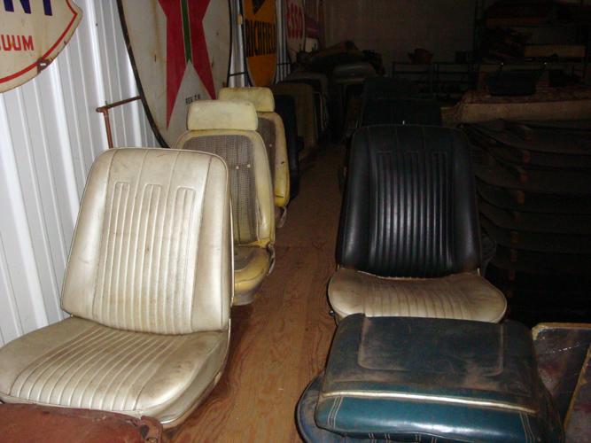 Vintage Car Parts >> Vintage Chevy car seats, classic Chevrolet auto seats ...