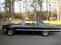1963 Chevrolet Impala Sport Coupe, restored vintage Chevy show car