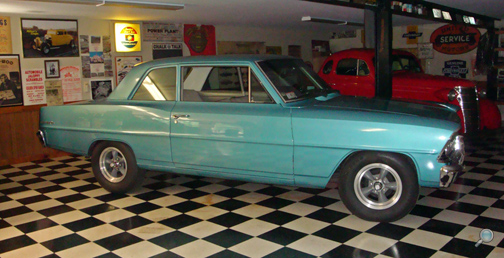 "1967 Chevrolet II ""100"" 2-Door Sedan, restored vintage Chevy show car"